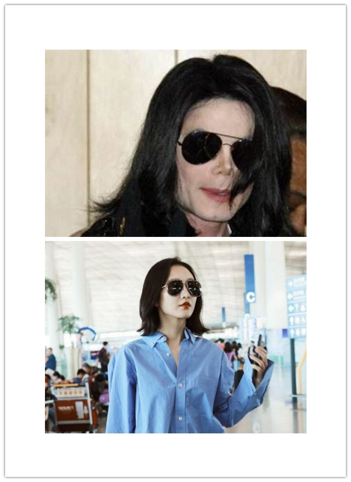 37岁王鸥街拍秀红唇,撞脸MJ,新剧和老友王凯再协作