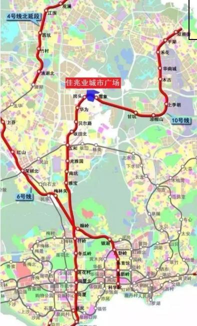 深圳地铁5号线西延线 8号线二期宣布开工