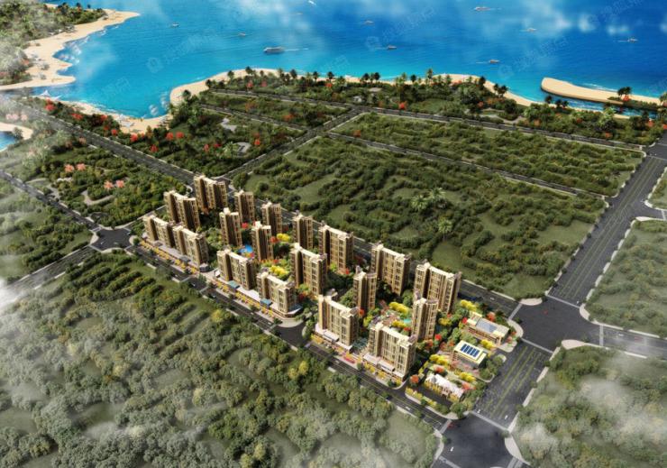 华西芙蓉海项目在售:花园两居带装修 均价13000元/平米