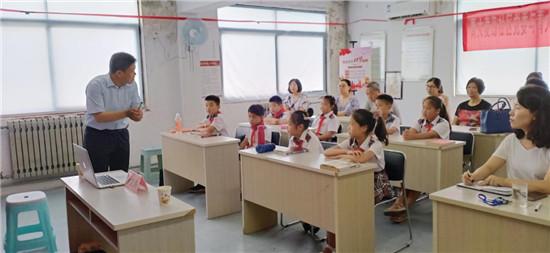 青大麦岛社区党委开展三方共建主题党日活动