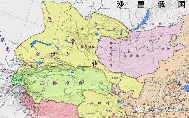 皇太极击败林丹汗_清朝是如何击败不可一世的准噶尔汗国?这是中国最雄壮的扩张 ...
