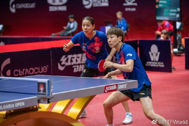 国乒3-0横扫日本平野美宇夺冠,混双组合惜败,韩国男双2连冠