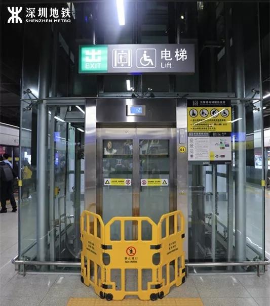 常坐地铁3号线的深圳人注意了!明天起3号线部分站将停梯