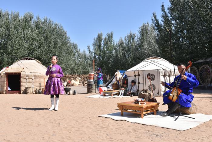 八省区少儿蒙古长调那达慕实景演绎牧民真实生活