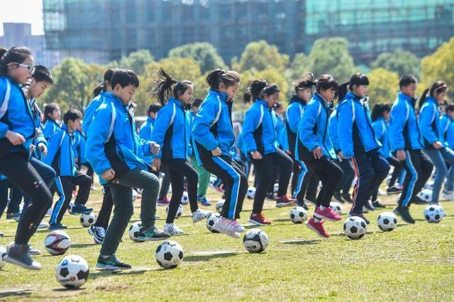 大力发展足球青训!浙江省到2022年将建设足球特色学校2000所