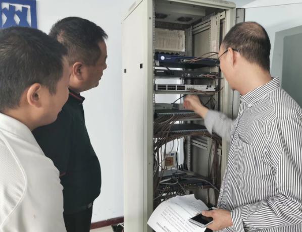 河南鹤壁市教体局举行网络与信息安全应急演练