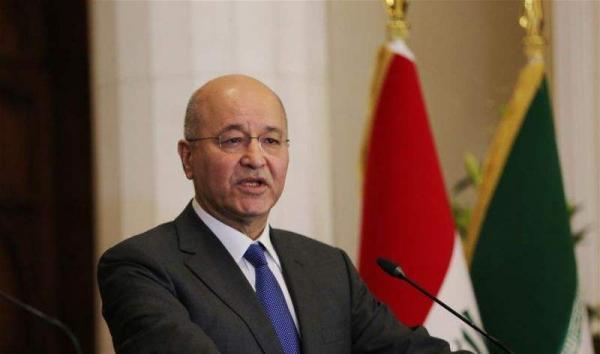 伊拉克总统萨利赫:伊朗与美国应通过对话缓和地区紧张局势_国际