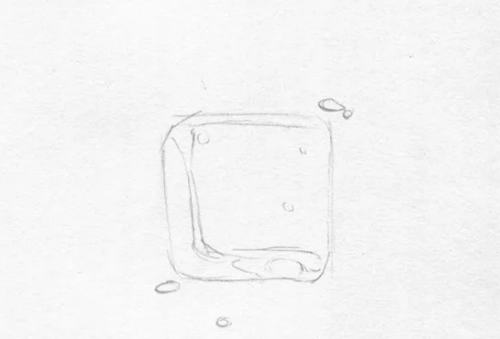 冰块教程:几步画好基础,零教程也画华为刷素描ios手机图片