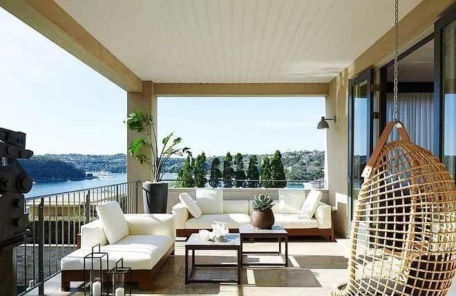 阳台也可以很格调,享受到阳光,亲近自然的地方