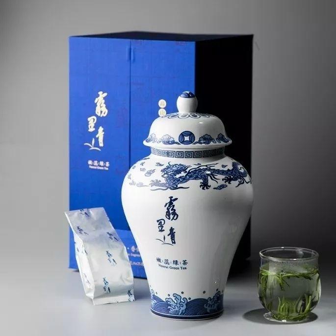 天方雾里青绿茶——2019年中国茶叶集群品牌联盟(春季图片
