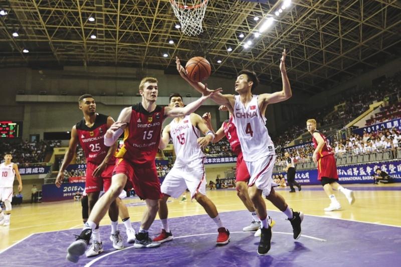八国男篮争霸赛本周苏州开打