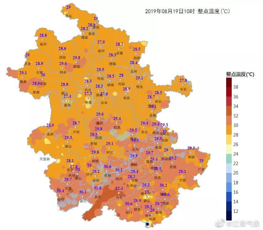 本周出伏!桐城高温天气即将退散