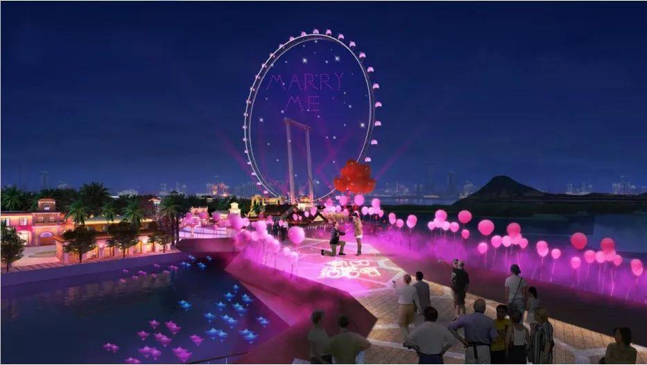 华侨城欢乐海岸PLUS建设进度超85 ,将有6条公交线直达