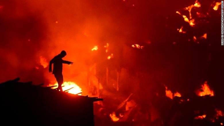 安徽蚌埠突发大火发生什么事了?安徽蚌埠突发大火背后的真相