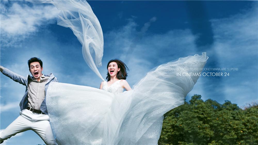 外景婚纱照怎样拍?你比春季还要美~
