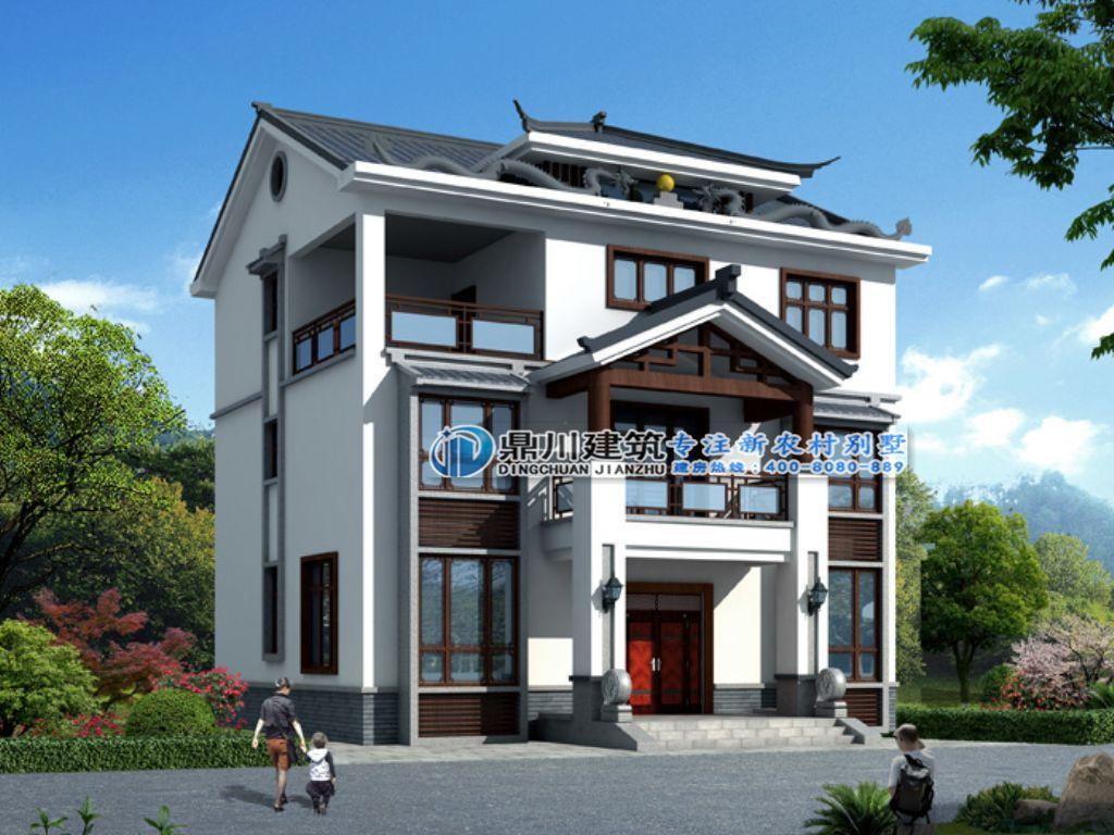 有钱有别墅的人都欢迎中式文化?来看看,这几款很受爱建!惠州泰丰千花岛别墅图片