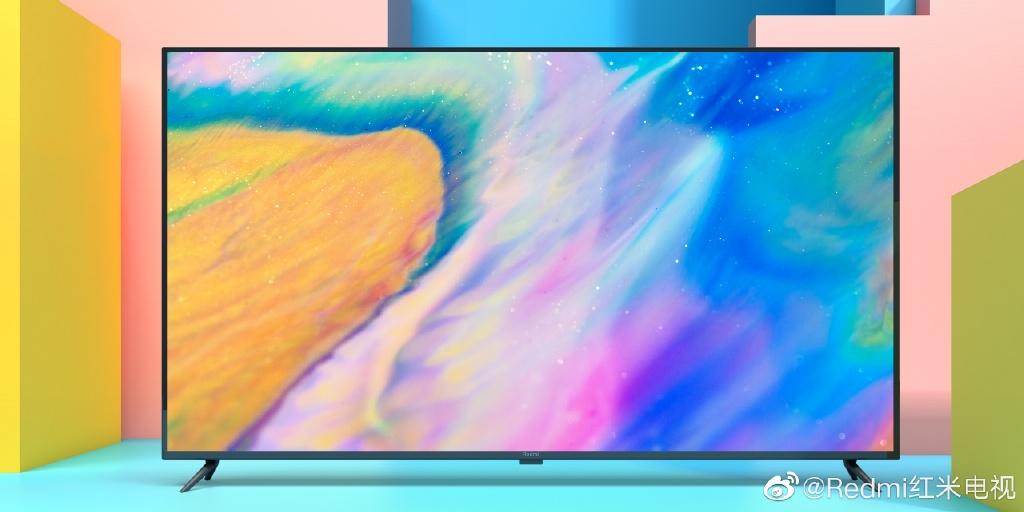 红米电视真容首曝:极窄的边框,超高的屏占比,硕大的屏幕!