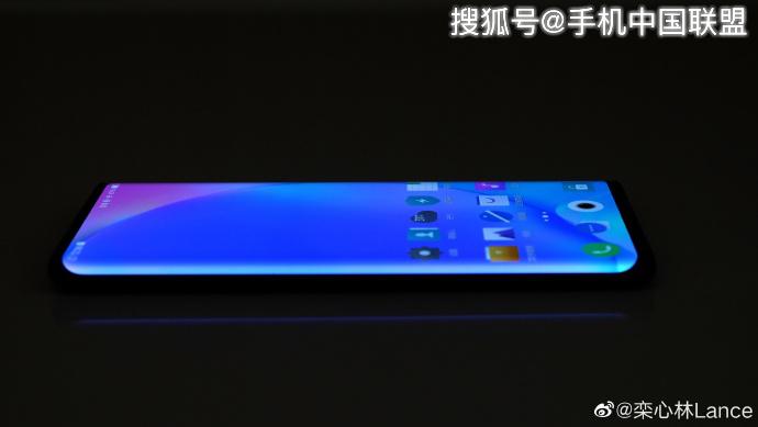 vivo NEX新机正面照曝光,采用曲面屏稳了