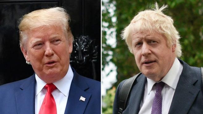 特朗普与英国首相通电话 讨论脱欧及贸易问题