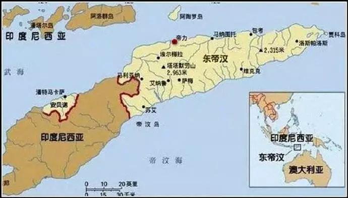 东帝汶面积人口_南半球唯一的亚洲国家 却曾被澳门管辖,至今纸币上印有中文