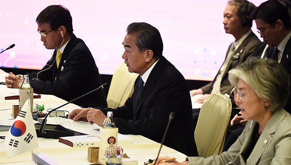 """中日韩外长会时隔3年重启,日韩能否""""讲和""""成焦点"""