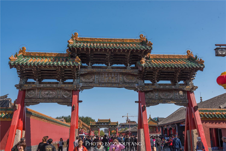 沈阳故宫,号称盛京,规模和客流量不足北京故宫的五分之一