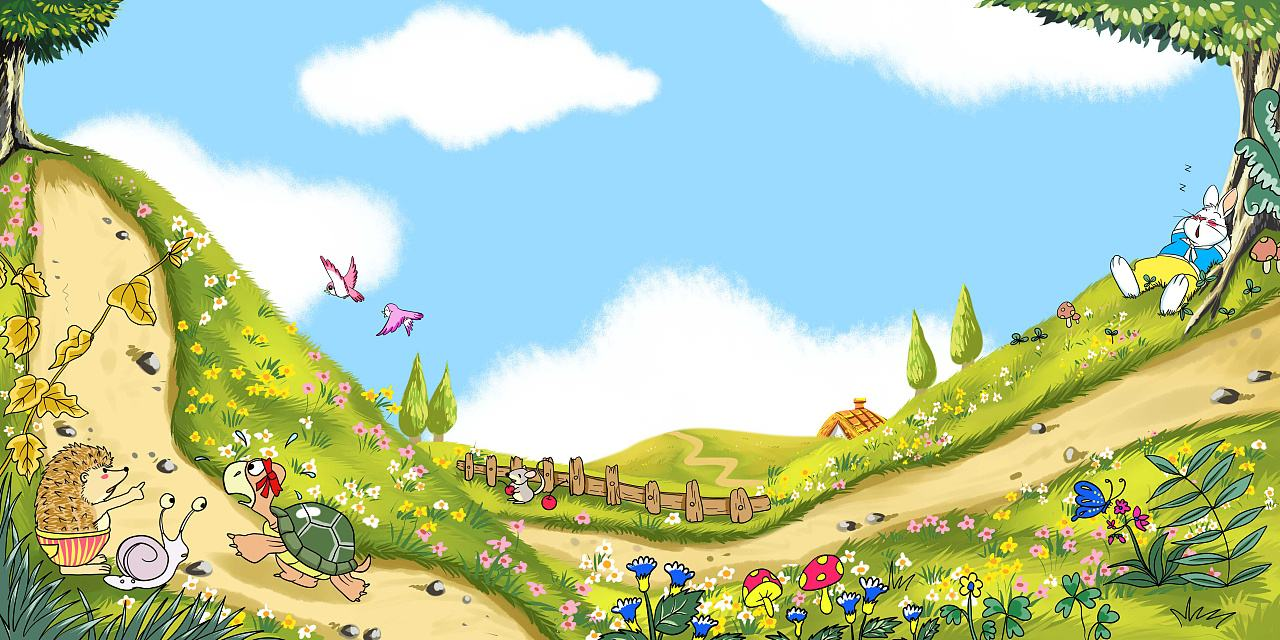 龟兔赛跑设计图__其他_动漫动画_设计图库_昵图网nipic.com