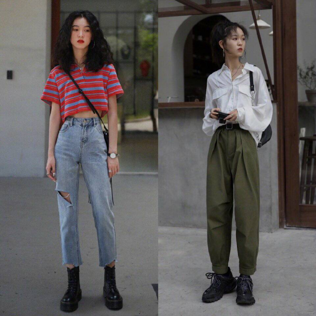 10套夏日穿搭,化身随性酷女孩,穿出不一样的新时尚