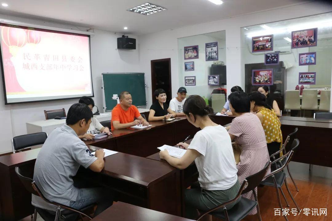 丽水:民革青田县委会城西支部召开支部委员会议