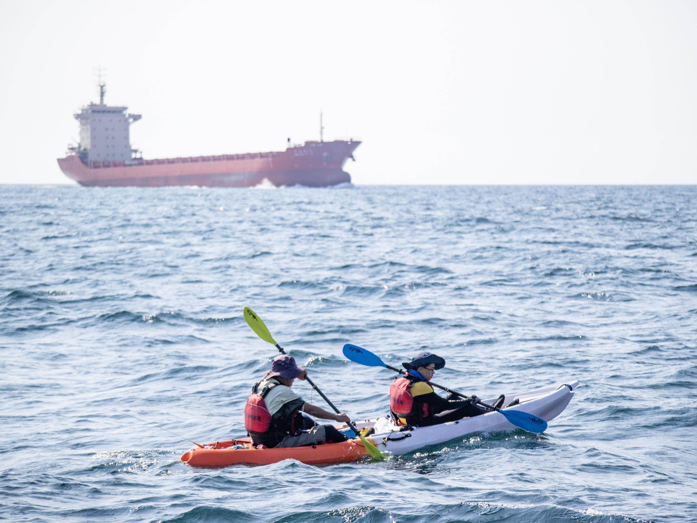 英雄出少年——小鴨愛漂流?跨渤海海峽挑戰賽