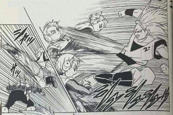 龙珠超漫画51回:超3悟空打不过银河巡警,贝吉塔学习新神技!_小欣