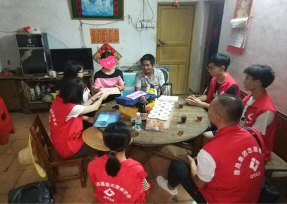 广东清远德晟志愿者前往清新区龙颈镇开展公益助学活动