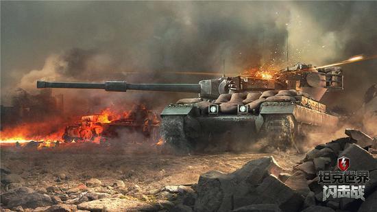 """重磅更新《坦克世界闪击战》新图""""都市港口"""""""