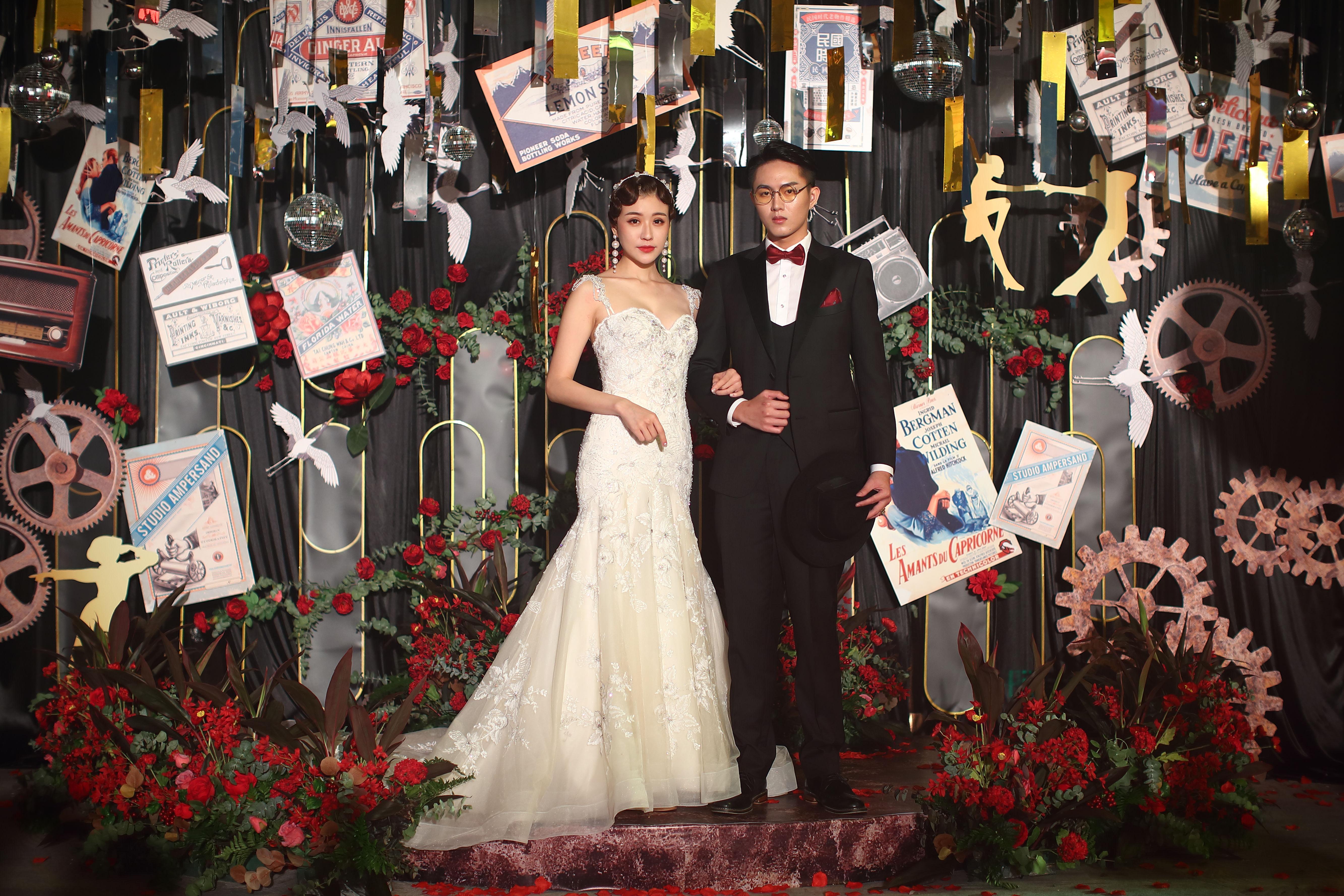 珠海粤财皇冠假日酒店:「又见不夜城」2019夏季婚礼发布会