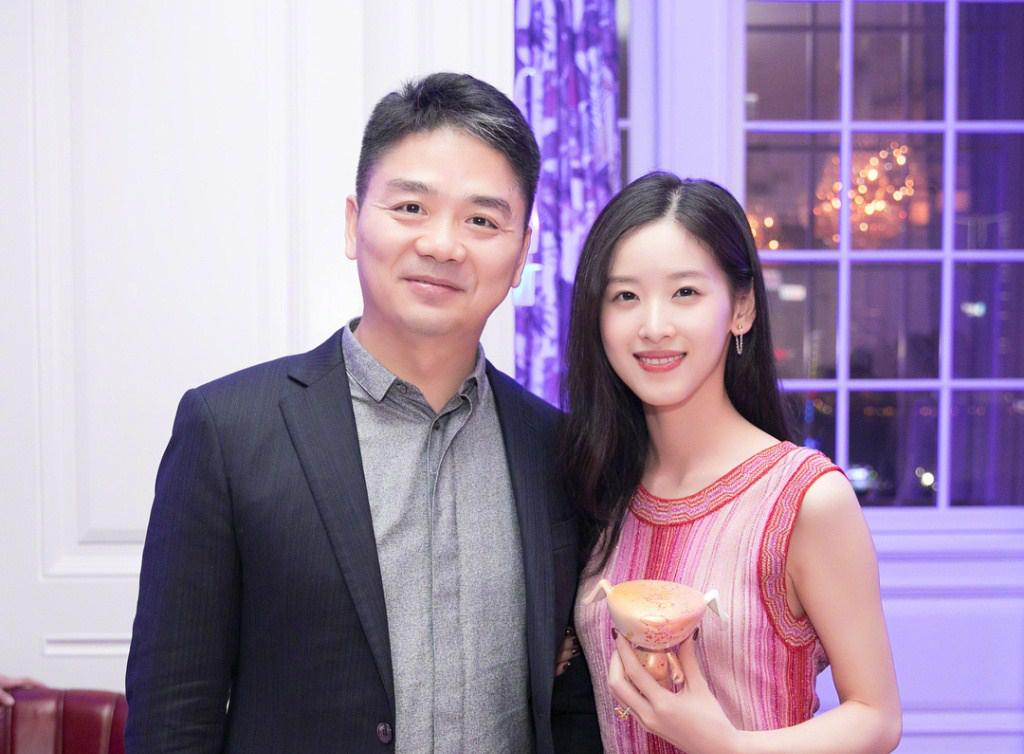 破离婚传闻 风波后章泽天刘强东久违露面的同框照引来不少热议