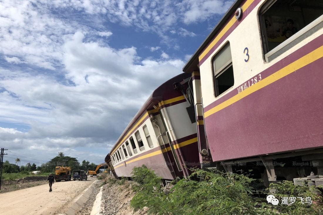 泰国火车6节车厢脱轨,原因令人哭笑不得