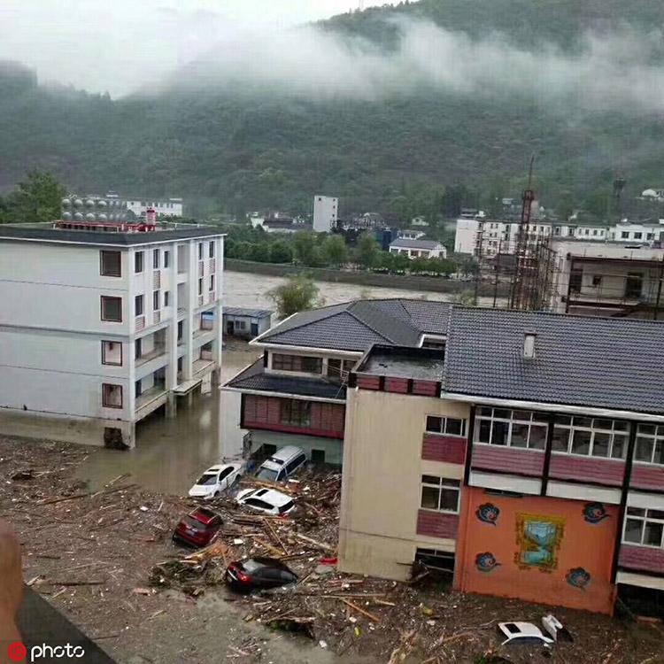 镇海阿坝州灾害攻略已致8人死亡23人失联暴雨四川图片