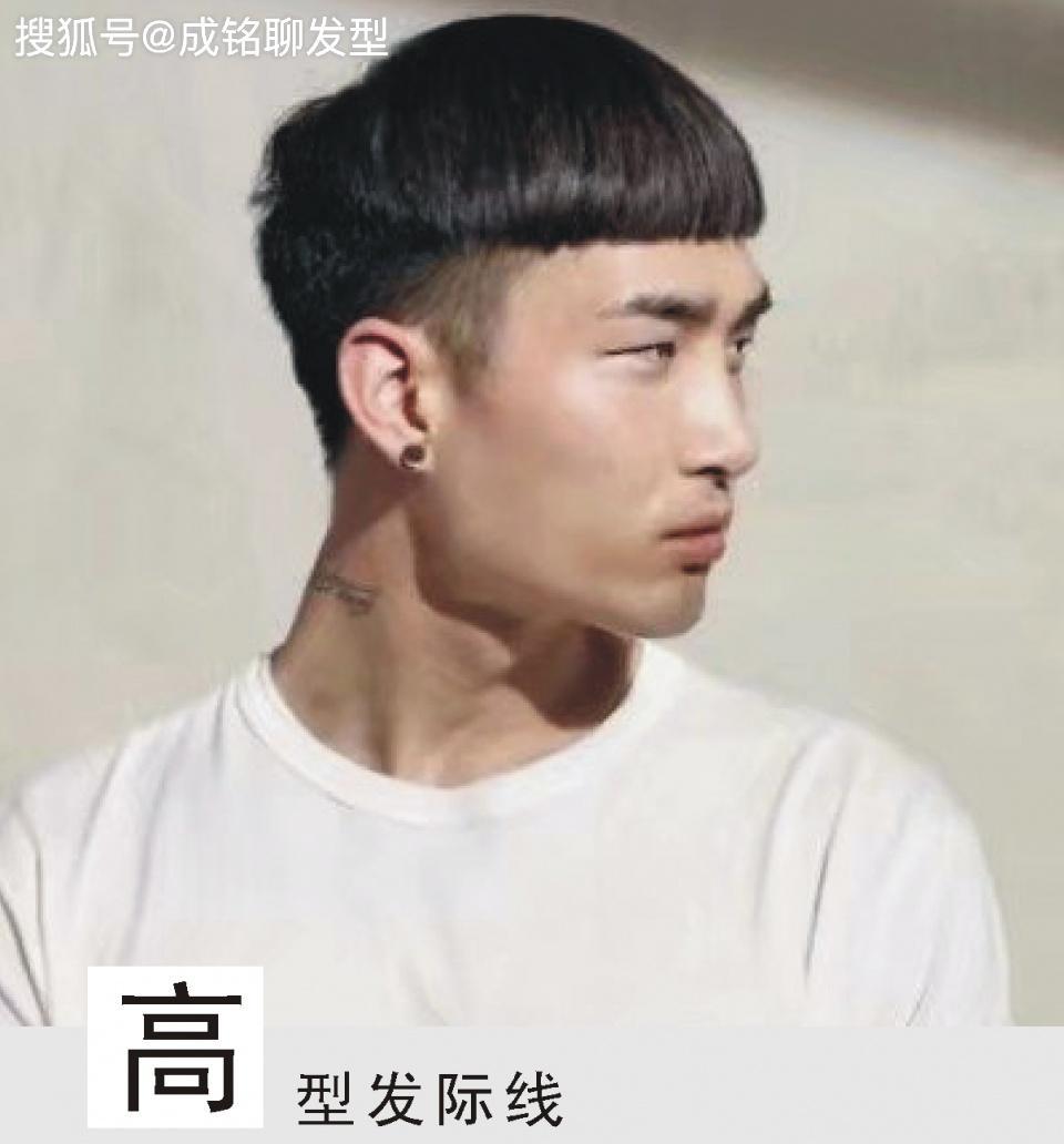 扁头方脸适合什么发型