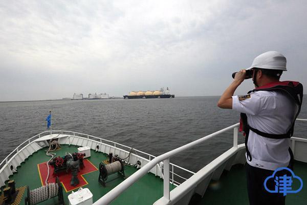 天津中石化LNG码头完成第100艘LNG船舶接卸