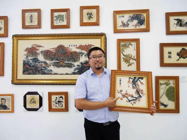 人体艺术暴露�_东明粮画——五谷杂粮的神奇碰撞