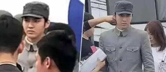 吴亦凡参演《建军大业》,看到造型的网友怒了:戴耳钉的是什么兵