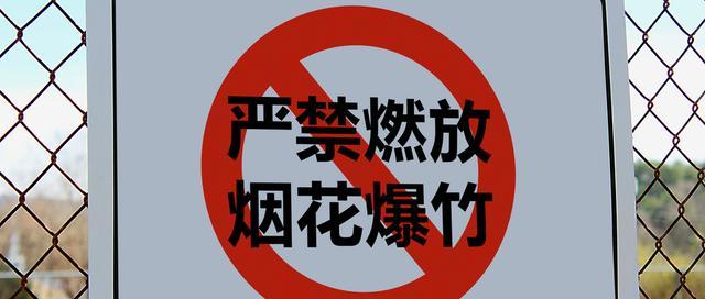 """""""财神节""""青岛市内禁放烟花爆竹 违者罚款或拘留"""
