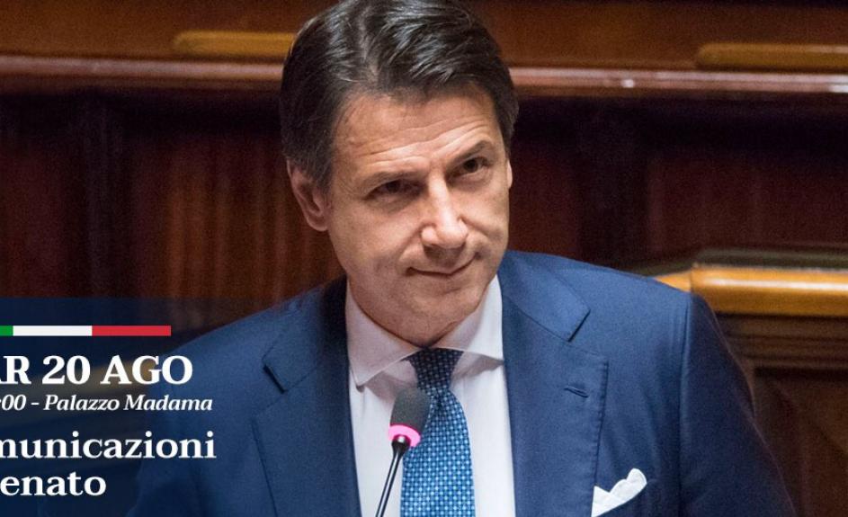 意大利总统接受总理孔特辞呈