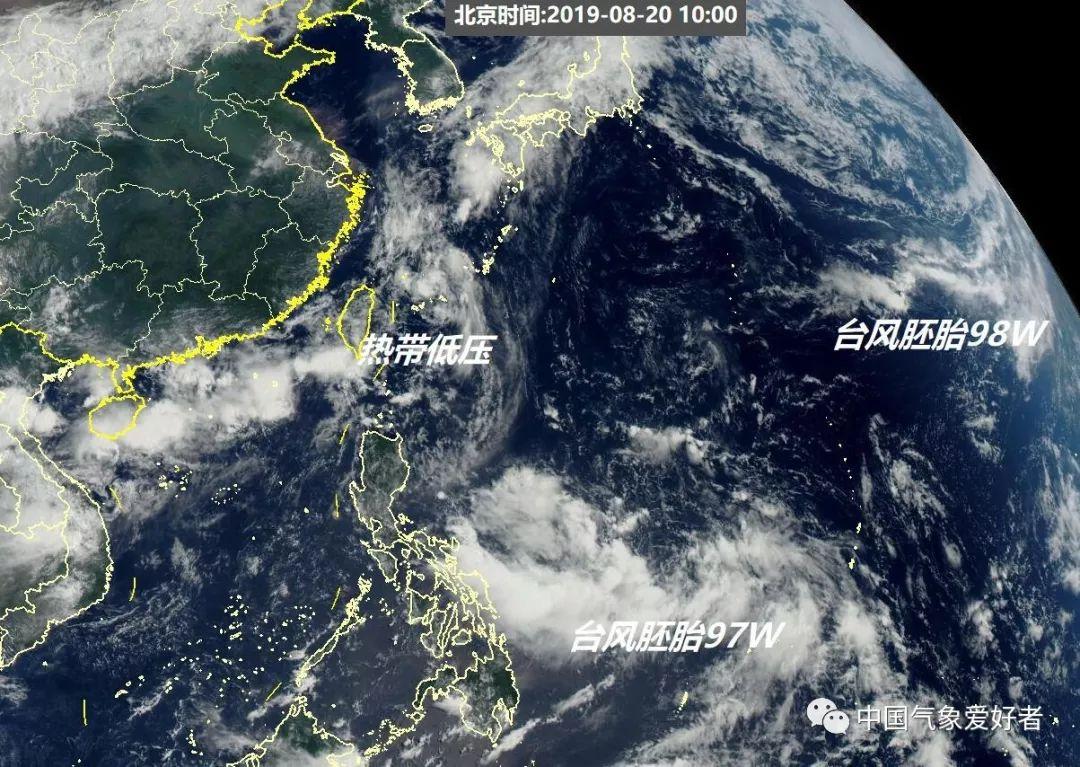 今天的天气舞台发生了什么?台风到哪里了?高清卫星云图带你看