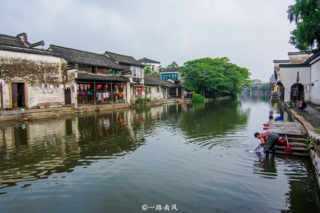浙江最有人间烟火气的古镇,早晚不用钱,景色优美就像画的一样!