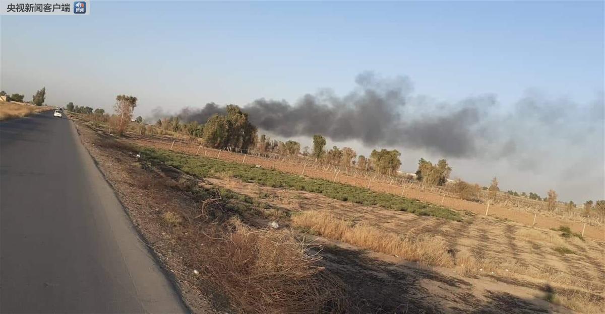 伊拉克一军火库发生爆炸 致2人死亡5人受伤_国防部