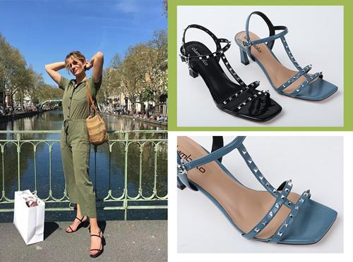 square head sandals