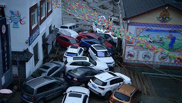 汶川暴雨已致8人遇难23人失联,已累计转移游客40830人
