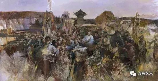 油画赏析 海派名家俞晓夫 真诚地面对自己 高清图集