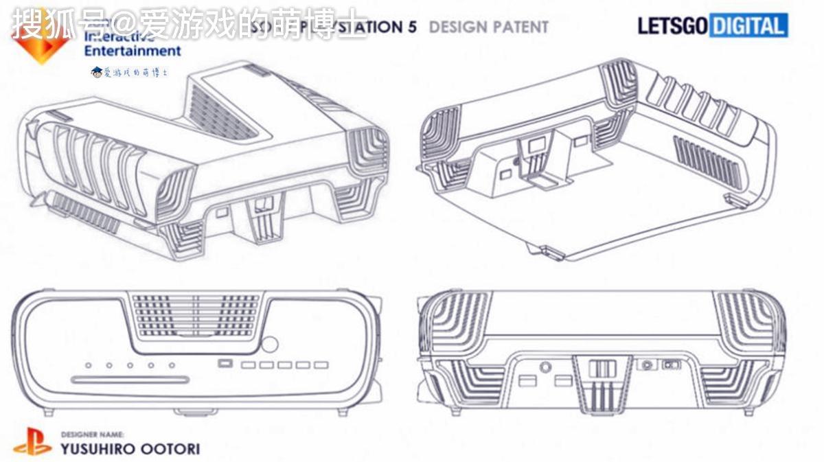 PS5长这样?外媒爆料索尼专利文件,设计者是PS4工程总监-郑州网站建设